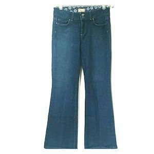 Paige Hidden Hills Bootcut Dark Blue Denim Jean
